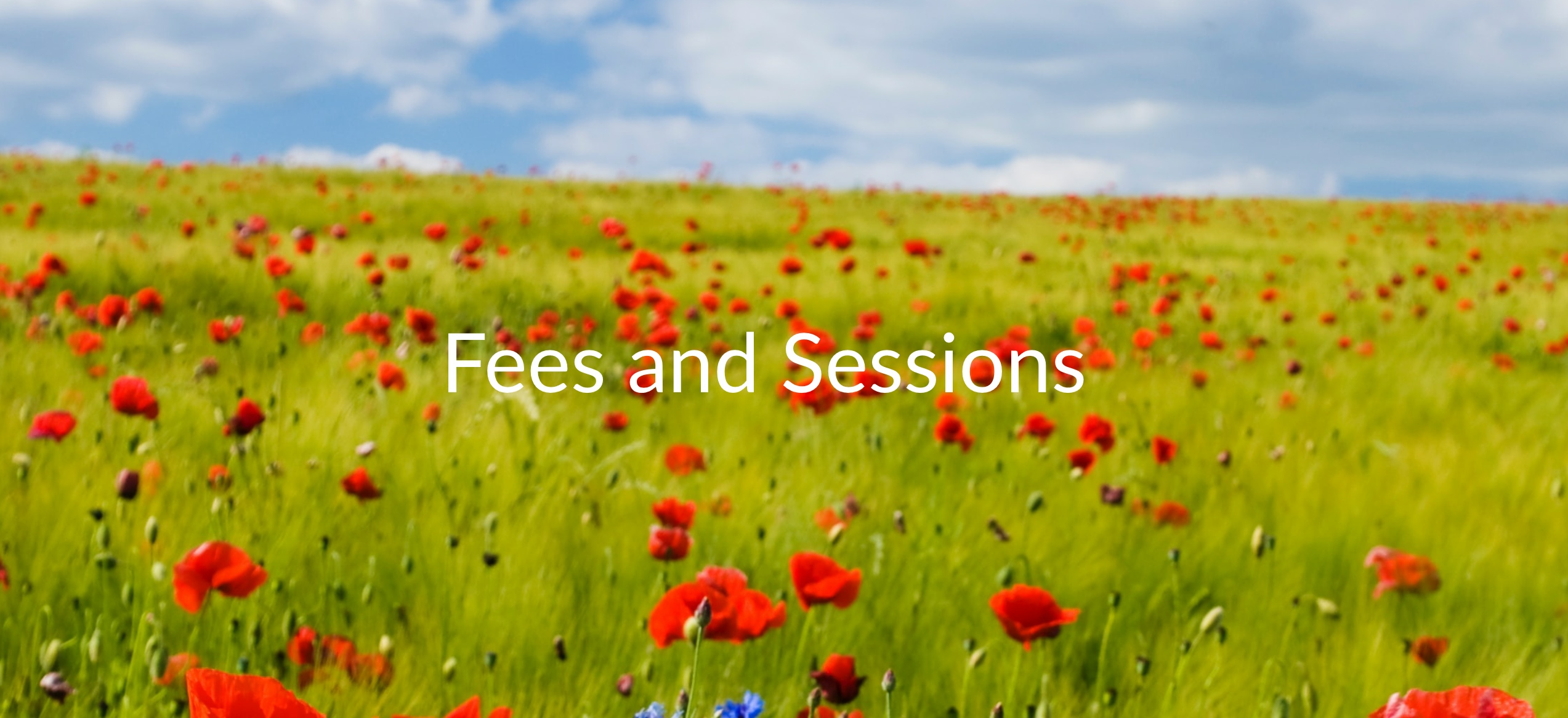 Information about fees and sessions with Rebecca Edmonds Hypnotherapy
