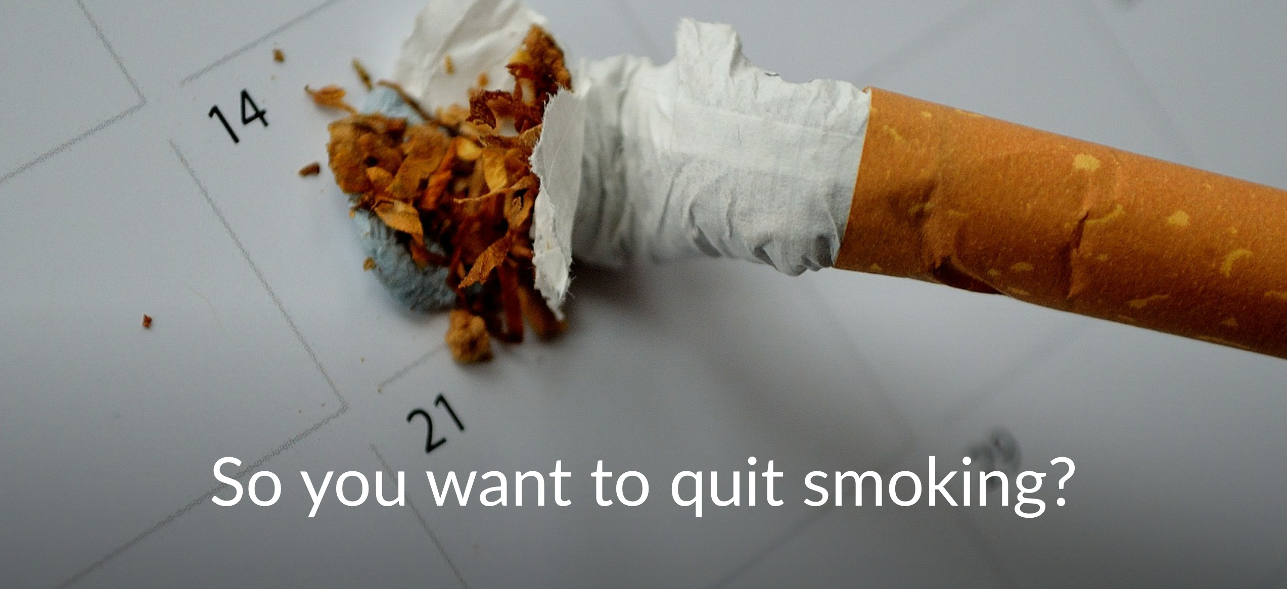 So, you want to quit smoking? Try Rebecca Edmonds Hypnotherapy