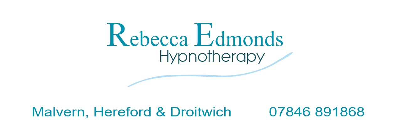 Click to go home - Rebecca Edmonds Hypnotherapy - Malvern, Hereford Droitwich and Online